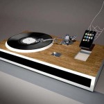 iPhone Dock and Vinyl Player Concept 600x450px