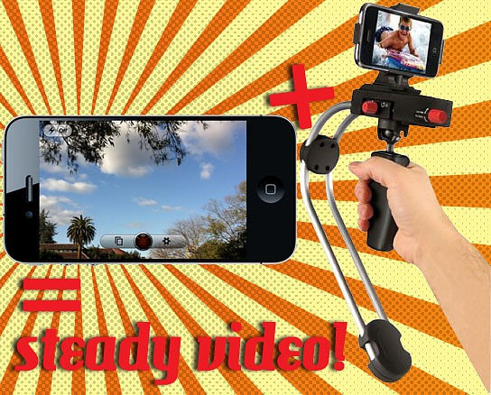 how to eliminate shaky recording with an iPhone 4 544x428px