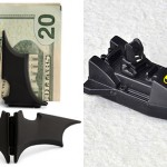 a Batman flash drive and money clip for Batman wannabe