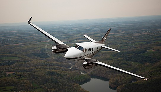 Beechcraft King Air 544x311px