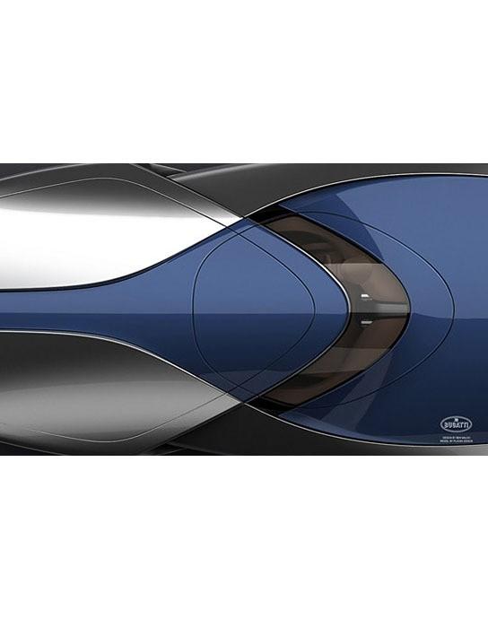 a concept speedboat inspired by 39 sang bleu 39 bugatti veyron. Black Bedroom Furniture Sets. Home Design Ideas