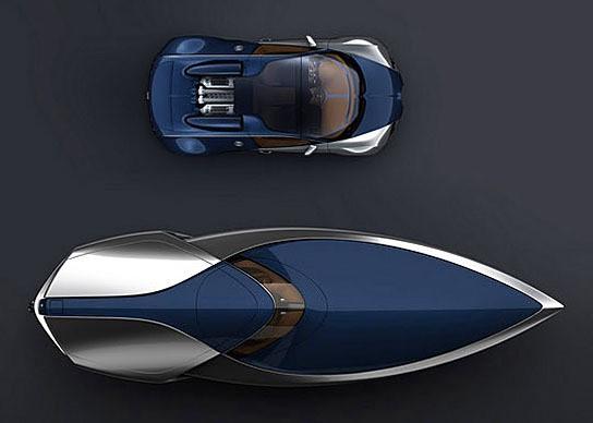 Bugatti Veyron Speedboat 544x388px