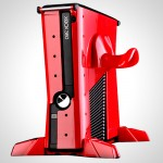 Calibur Base Vault give your XBox 360 an industrial look
