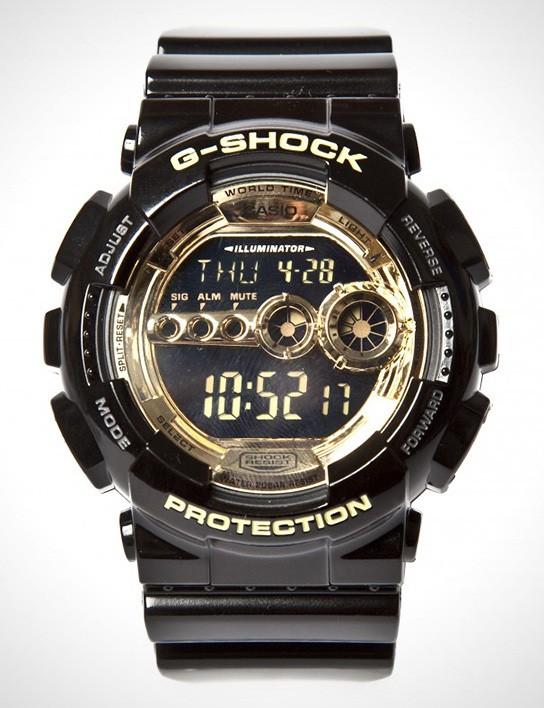Casio G-Shock Metallic Gold Pack 544x708px