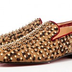 Rollerboy Spikes: its all about leopard print and gold spikes