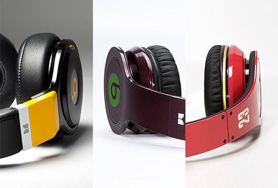 Colorware Beats by Dre headphones 544x368px