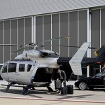 """EC145 """"Mercedes-Benz Style"""" helicopter takes to the sky"""
