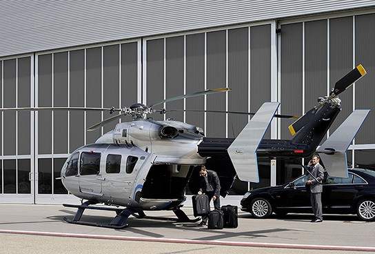 Eurocopter EC-145 'Mercedes-Benz Style' Helicopter 544x368px