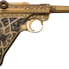 Gold-plated Luger Pistol 800x500px