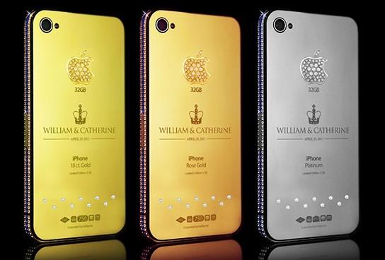 Goldgenie Royal Wedding iPhones 544x368px