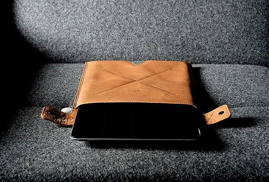 Hard Graft Leather iPad Sleeve 544x368px