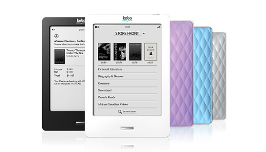 Kobo eReader Touch Edition 544x311px