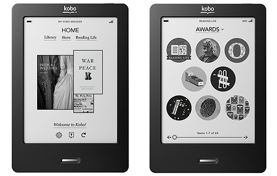 Kobo eReader Touch Edition 544x345p