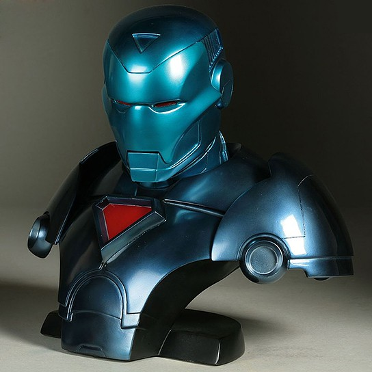 Limited Edition Stealth Iron Man Legendary Scale Bust 544x544px
