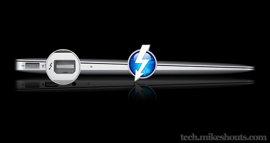 MacBook Air with Thunderbolt 544x288px