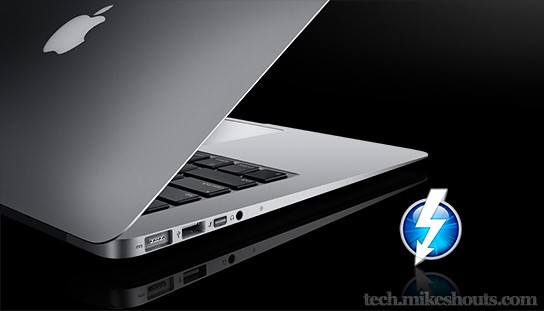 MacBook Air with Thunderbolt 544x311px