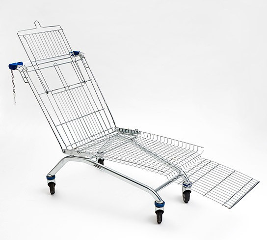 Mike Bouchet Shopping Cart Lounger 544x488px