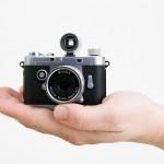 Minox Digital Classic Camera looks like a shrunken Leica M3