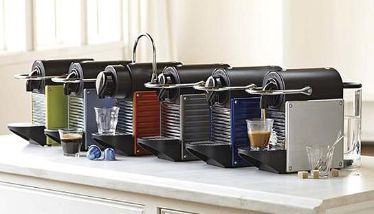 new nespresso pixie espresso maker mikeshouts. Black Bedroom Furniture Sets. Home Design Ideas