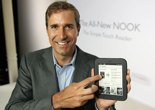 Nook Simple Touch Reader 544x388px