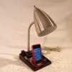 Old Time Computer's reading lamp with iPhone dock 640x480px