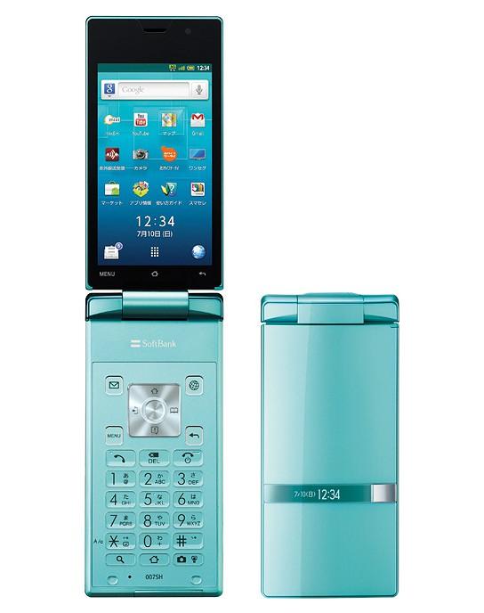 Sharp AQUOS Hybrid 007SH 544x688px