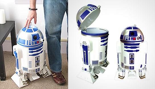 Star Wars R2-D2 Trashcan 544x311px