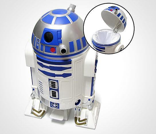 Star Wars R2-D2 Trashcan 544x468px