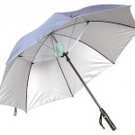 Thanko's Fanbrella – an umbrella that also blows you cool