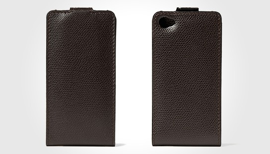 Valextra Leather iPhone 4 Case 544x311px