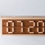 Puzzle – an alarm clock that you need to spell out the time