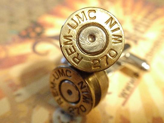 270 Premium Bullet Shell Cufflinks 544x408px