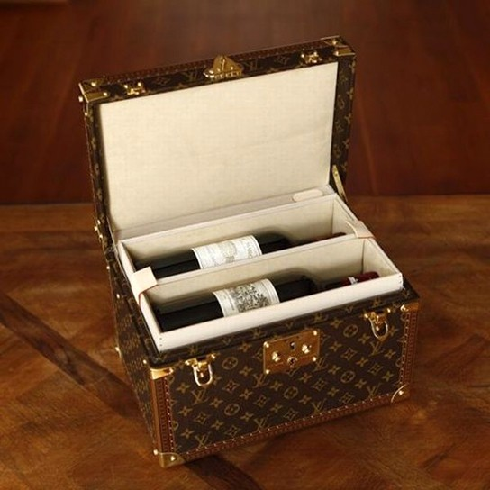 Cordier Mestrezat Louis Vuitton Wine Case 544x544px