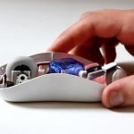 concept mouse & HDD that lets you feel the weight of your files