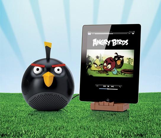 Gear4 Angry Bird Speakers - Black Bird 544x466px