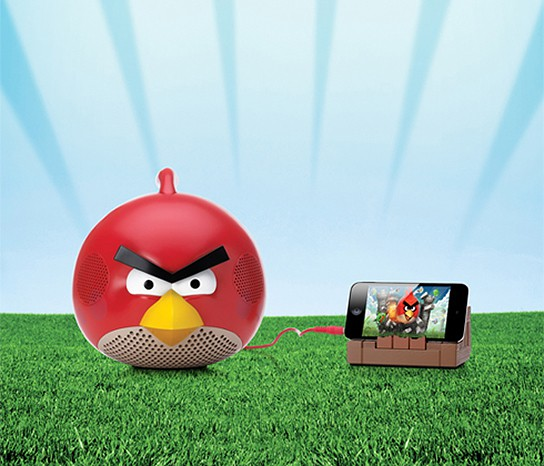 Gear4 Angry Bird Speakers - Red Bird 544x466px