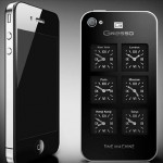 Gresso presents an iPhone with six world time on its back