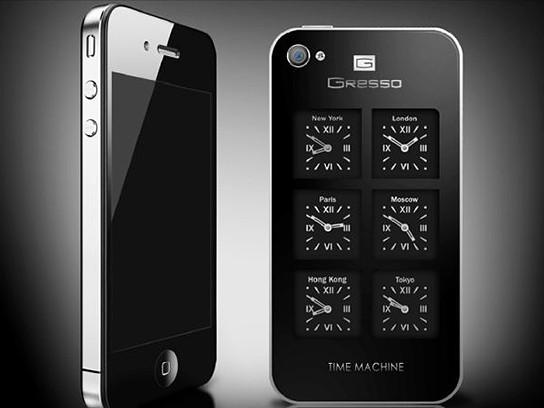 Gresso iPhone 4 Time Machine 544x408px
