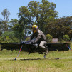 Hoverbike under testing, tethered for safety reason 900x600px