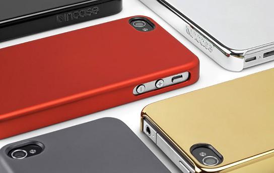 Incase Chrome and Metallic Snap Cases 544x345px