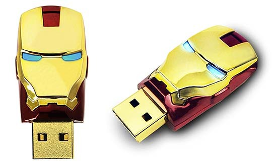 Iron Man USB Flash Drive 544x328px