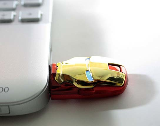 Iron Man USB Flash Drive 544x428px