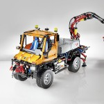 Lego Technic Unimog U 400 is the biggest Technic model ever