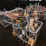 Chris Burden's Metropolis II completed with skyscrapers