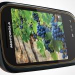 Motorola Wilder: splash and dust resistant touchscreen phone