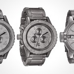 Nixon popular wristwatches given the raw finish treatment