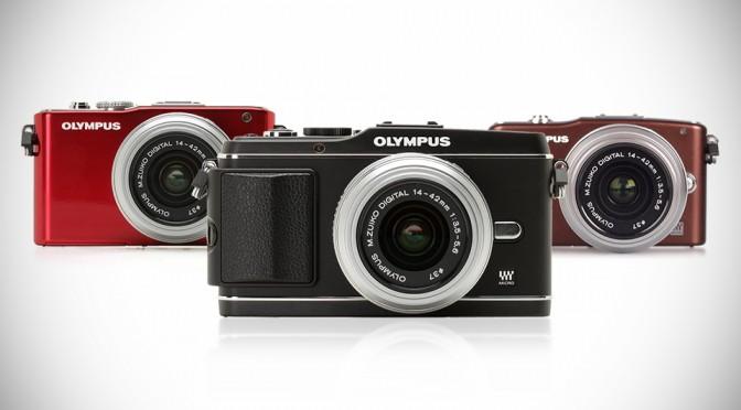 Olympus PEN cameras