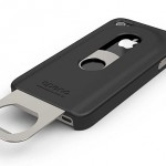 Opena – it's an iPhone case with cool slide-out bottle opener