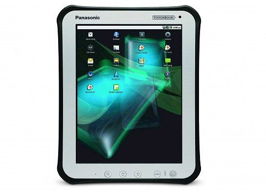 Panasonic Toughbook Android Tablet 544x398px