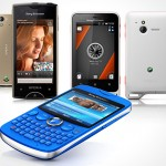 Sony Ericsson announced Xperia ray, Xperia active and txt